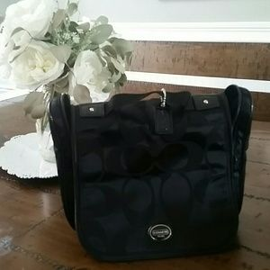 Coach womans travel/ cosmetic bag